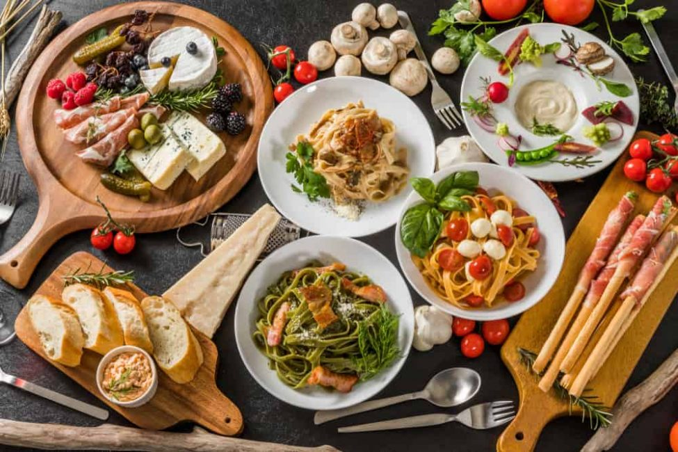 Think Italian Food: Think Pasta, Pizza and Cappuccino? Think again.