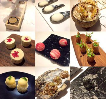 A 22 course meal at Gaggan - Asia's Top Restaurant