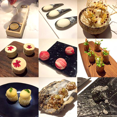A 22 course meal at Gaggan – Asia's Top Restaurant