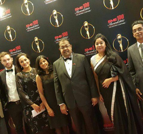 Group Photo at SME Awards