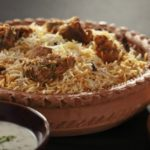 Mutton Gosht Biryani - A rice preparation with mutton and spices