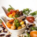 Catering_Food_MalaysianTapas_SpanishSaladBeans