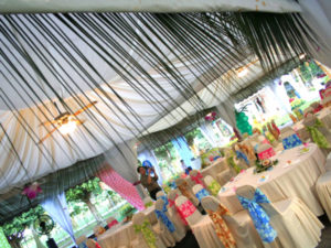Catering_SO_Party_Garden_HawaiianTheme_Rental_Canopy_SetUp