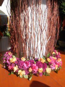 Catering_Wedding_Garden_Amethyst_SetUp_Centrepiece