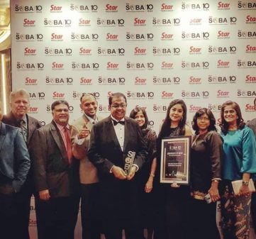 The Big Rajah Wins the Best Brand (Gold) Prize at the Star Outstanding Business Awards (SOBA) 2019