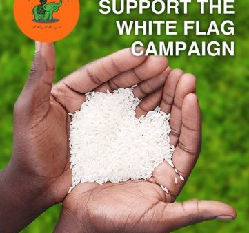 Join Us and Support The White Flag Campaign